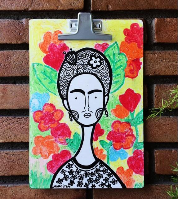 Pranchetas Ilustradas - Frida Kahlo