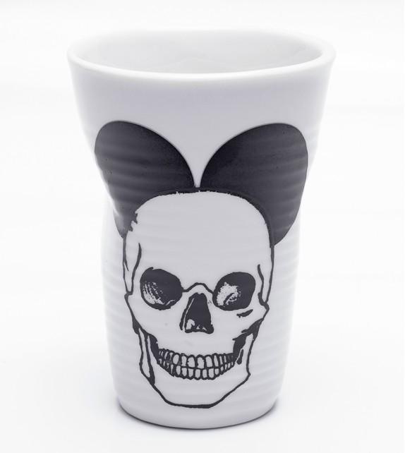 Copo Porcelana Caveira - Mickey