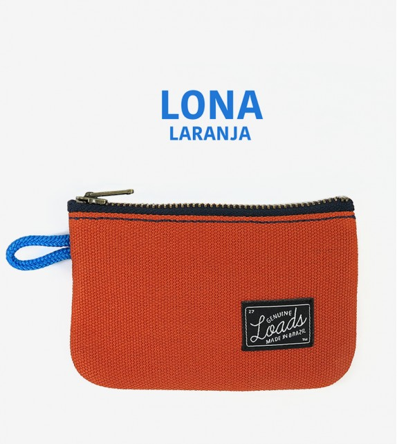 Carteira Loads - Lona Orange