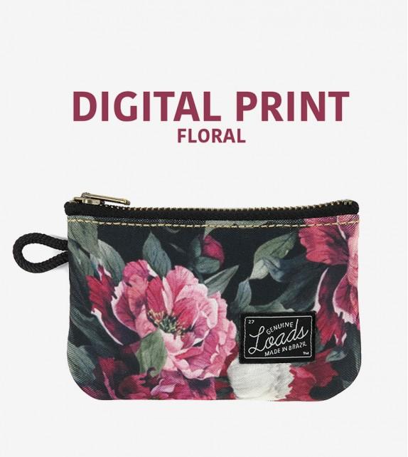 Carteira Loads - Digital Print Floral