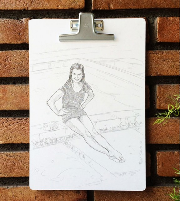 Prancheta Ilustrada - Annette Kellerman