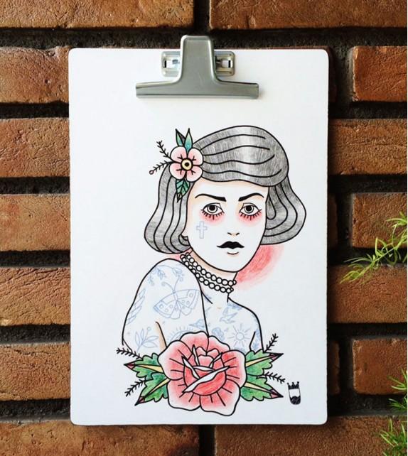 Prancheta Ilustrada - Maud Wagner